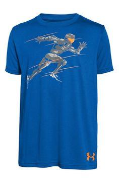 Under Armour 'Running Man' T-Shirt (Little Boys & Big Boys)