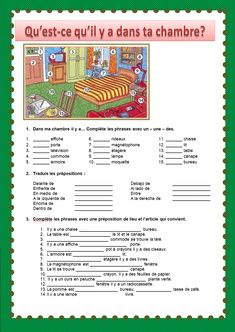 Le français du Siècle: 2º ESO French Flashcards, French Worksheets, French Expressions, French Language Lessons, French Lessons, French Teacher, Teaching French, French Practice, French Kids