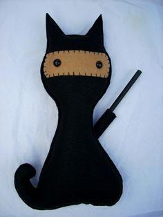 Ninja Kitty $25