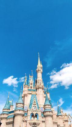 Cinderella Wallpaper: Cinderella's castle. Cinderella Wallpaper, Disney Phone Wallpaper, Disney Parks, Walt Disney World, Disney Pixar, Disneyland Castle, Disneyland Paris, Disney Cinderella Castle, Disney Castles