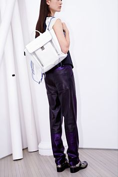 3.1 Phillip Lim Resort 2014 - pashli backpack!