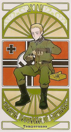 Germany | Hetalia Tarot Card