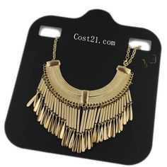 B09 golden chain necklace,shop cheap fashion jewelry at www.favorwe.com