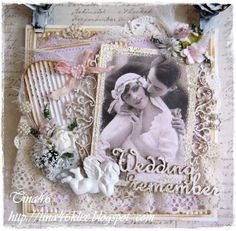 Card created by LLC DT Member Tina Klix, using papers from Maja Design's Vintage Summer Basics collection.