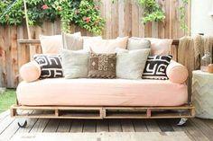 Quiero un sofa-pallet!