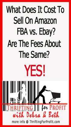 What Does It Cost To Sell On Amazon FBA vs. Ebay?