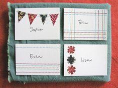 Same color scheme, set of four note cards.