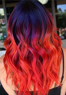 Amazing and red hair color ideas for long and medium haircuts in 2018. Check out these guaranteed best hair colors highlights to make you look hottest and cute. If you are looking for big change of hair colors in this year then must try the beautiful trends red hair colors with shadow roots in 2018 for modern look.