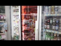 TRANSLOOK® The World 1st Refrigerator Door with Transparent LCD Display - YouTube