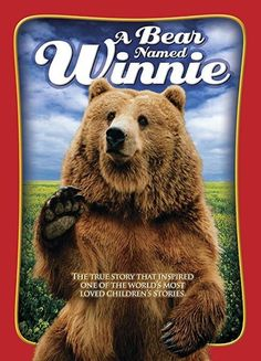 A Bear Named Winnie: The heartwarming family film A BEAR NAMED WINNIE dramatizes the true story that inspired one of the most beloved children's book characters of all time. On the eve of World War I, Canadian soldier Lt. Animals Of The World, Animals And Pets, Children's Book Characters, Canadian Soldiers, Usa Pictures, Remembrance Day, Bear Cubs, Spirit Animal, Painting Art