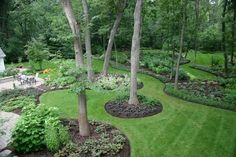 Backyard, Amazing Backyard Landscapes for Small and Large Yards: Beautiful Backyard Landscapes Ideas