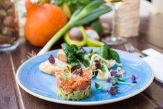 """""""Danube salmon"""" tartar steak with bok-choy salad [2048x1363] [OC] #foodporn #food #foodie #yummy #yum #foodgasm #nomnom #delicious #recipe"""