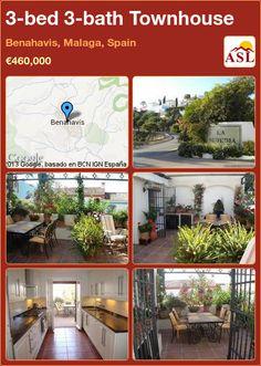 3-bed 3-bath Townhouse in Benahavis, Malaga, Spain ►€460,000 #PropertyForSaleInSpain