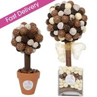 MIXED CHOCOLATE TRUFFLE Sweet Tree by Rivera for Mothers Day! From  #Mothersday #Gifts #Quirky #Giftideas #Perfectgifts #Unique #Unusual