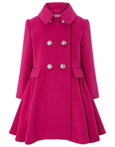 4c1c45d5d Millie Coat | Pink | 7-8 Years | 5143254527 | Monsoon Monsoon, Party