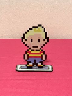 Lucas from Mother 3 joins his Earthbound friends in my shop!