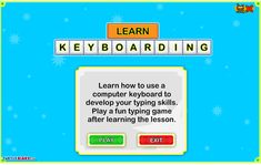 Keyboarding Practice - Crazy4Computers Typing Skills, Typing Games, Diy Electronics, Adhd, Software, Training, Student, Activities, Work Outs