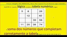 Curso Raciocínio Lógico Padrão da Sequência números e figuras Teste Psic... https://youtu.be/jHOkKA8hAKg