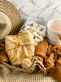 Sunflower yellow and Nanna's Garden Modern Cloth Nappies, Disposable Nappies, Multiplication For Kids, Biodegradable Products, Throw Pillows, Yellow, Garden, Toss Pillows, Garten
