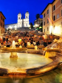 European Cities: The Guide to Free Attractions, Spanish Steps (Scalinata di Spagna), Rome