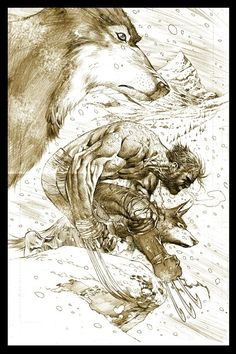 Wolverine and The Wolves by Ardian Syaf #comic #wolverine