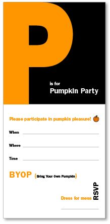 Pumpkin Decorating Party - this would be so fun!! Could be a great time to get ready for FALL and Halloween!