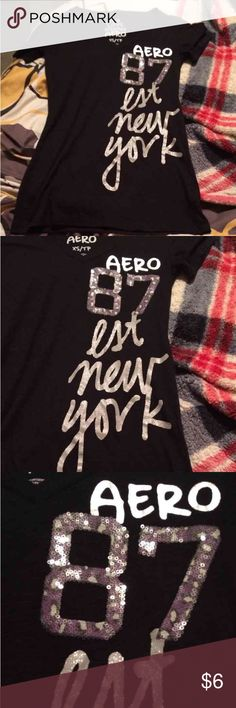 $3 Aeropostale xs shirt $3 a piece when you bundle 5 or more items!!! I have a ton of name brand women juniors men's boys and girls great deal!!! Aeropostale Tops
