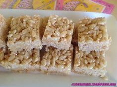 """Honey Rice Bubble Crunch - a Kiwi Classic and so simple. This is the best """"Mum I need a plate for school!"""" recipe around. Check it out on my blog www.justamumnz.wordpress.com"""