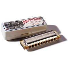 HOHNER M2009 CROSSOVER MARINE BAND HARMONICA KEY OF E MADE IN GERMANY NEW