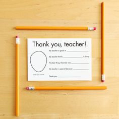 Thank You Card for Teacher - Gift for teacher card -Teacher Appreciation Preschool Personalized Gift - Printable Christmas Teacher Gifts