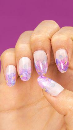Pin by Balinova Antoniya on Nail designs in 2020 Kawaii Nail Art, Pink Nail Art, Cute Nail Art, Nail Art Diy, Art Nails, Pastel Nails, Nail Art Designs Videos, Red Nail Designs, Nail Art Videos