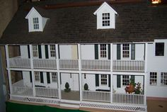 Marshall House 1842 Doll House Miniature Vintage Created in 1982 | eBay