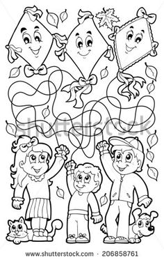Find Maze 9 Coloring Book Children stock images in HD and millions of other royalty-free stock photos, illustrations and vectors in the Shutterstock collection. Free Coloring Pages, Coloring Books, Board Decoration, Autumn Activities For Kids, School Decorations, Cartoon Drawings, Kids And Parenting, Worksheets, Fairy Tales