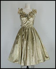 Gunne Sax prom dress.