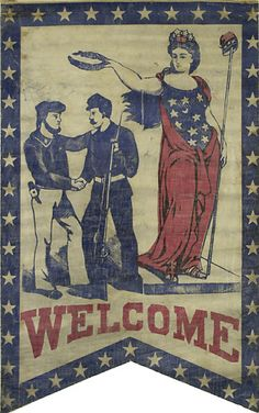 Welcome Home Banner.  22.5 x 36 in.