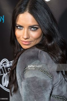 Victoria's Secret Model Adriana Lima attends the 11th Annual 'Leather & Laces' Party at The Liberty Theatre on February 1, 2014 in New York City.
