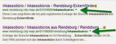 """""""city-map""""  Fördeagentur: Finden und gefunden werden mit city-map"""