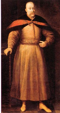 Janusz Radziwill wearing zupan and delia  16th and 17th century Polish Dress — Zupan | Reconstructing History