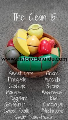 #aisforadelaide #clean15 #organic #cleaneating #healthyfamily