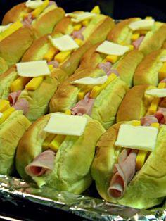 Louisiana Bride: Ham & Cheese Breakfast Rolls