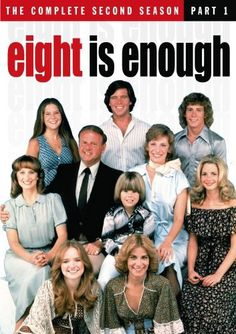 Win a Copy of the Complete Second Season of Eight is Enough - The Retroist 80 Tv Shows, Great Tv Shows, Movies And Tv Shows, 1990s Tv Shows, Great Memories, Childhood Memories, Ed Vedder, Mejores Series Tv, Nostalgia