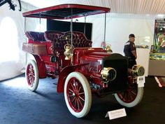 1904 White Model E Steam Rear Entrance Touring Car