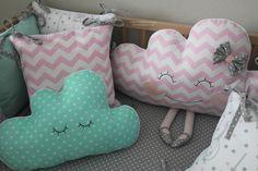 Бортики, купить бортики, бортики в кроватку, игрушки, Baby Bedding Bumper, Clouds bed pillows, Toddler bedding, Head bumpers, bumper, baby cot bumper, kids room design, kids bedding.