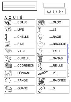 Learning French For Kids, Teaching French, French Language Lessons, French Lessons, French Education, Kids Education, Teaching Kids, Kids Learning, French Prepositions