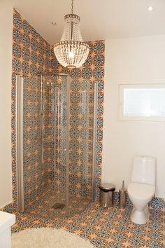 Moroccan tiles Moroccan wet. Room