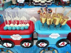 Thomas the Train Birthday Party Ideas | Photo 12 of 19 | Catch My Party
