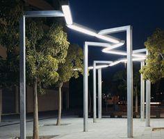 Éclairage de rue | Vía Láctea | Santa