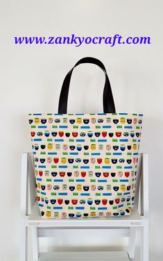 Japanese Yunomi (tea cup) Mini Tote Bag from www.zankyocraft.com