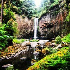 Ambiqua Falls, Oregon   Summer 2013
