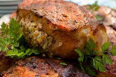 Boudain Stuffed Pork Chops